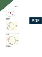 Teoremas de Circulos