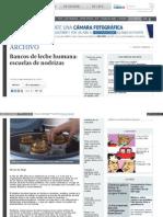 Www Elfinanciero Com Mx Archivo Bancos de Leche Humana Escue
