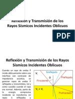 Transmisión de Los Rayos Sismicos Incidentes