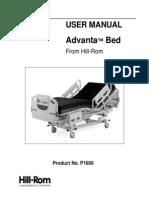 Hill Rom Avanta Bed Op Manual