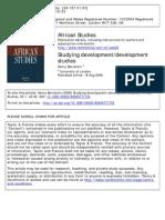 Bernstein Development Stuides