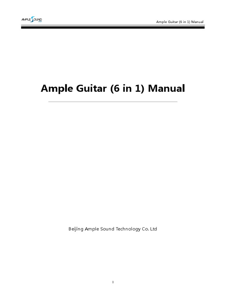 ample sound agg manual
