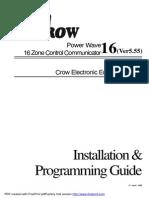 Power Wave 16 crow alarm
