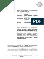 Aplicação Do Art. 191 Independe Do Meio Em Que Tramita o Proc. AI Nº 1.145.630-3