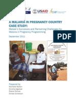 Malaria Case Study Malawi