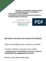 Dezvoltari Si Inovari Privind Raportarea Financiara in Institutiile Publice G. Alecu