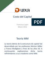 5 Costo de Capital - Teoria MM