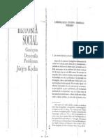 Kocka Jürgen - Historia Social. Concepto. Desarrollo. Problemas. (Cap. 2)