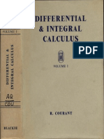 Courant DifferentialIntegralCalculusVolI