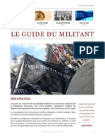 Le Guide du militant de la DF