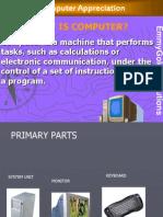 computer Appreciation