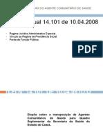 Estadualização Do Agente Comunitário de Saúde