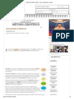 3.- Definición de Método Científico - Qué Es, Significado y Concepto