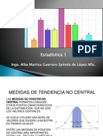 4.Medidas de Tendencia No Central y Desviacion