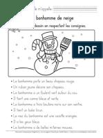 Evaluation Bonhomme De  neige