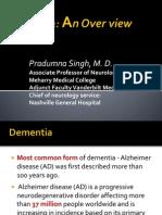 1_ Dementia an Overview Dr Singh