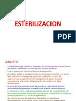 ESTERILIZACION BACTERIOLOGIA