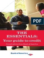 the essentials. our guide to credit