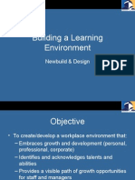 Building a Learning Environmen1l