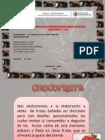 Chocolates Chocofruts