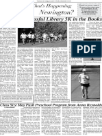 Newington Library 5K Challenge