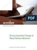 Accenture Driving Successful Change at Nokia