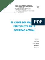 Papel Del Docente en La Sociedad (1)