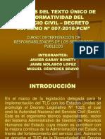 Análisis Del Texto Único de La Normatividad