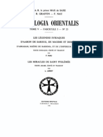 Patrologia Orientalis Tome V - Fascicule 5 - No. 25 - Graffin - Nau - Les legendes syriaques