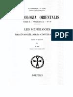 Patrologia Orientalis Tome X - Fascicule 2 - No. 47 - Les Monologes des Evangeliaires coptes
