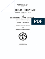 Patrologia Orientalis Tome XIII - Fascicule 5 No. 66 - Le Troisieme livre de 'Ezra version ethiopienne