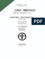 Patrologia Orientalis Tome XIII - Fascicule 4 - No. 65 - Histoire Nestorienne Deuxieme Partie (II)