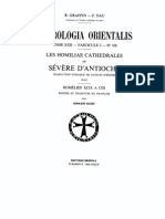 Patrologia Orientalis Tome XXII - Fascicule 2 - No. 108 - Homiliae cathedrales 99-103 Severe d'Antioche