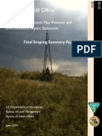 U.S. Bureau of Land Management - Oklahoma Field Office - Red River Land Management Review - Scoping Report