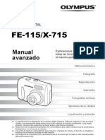 Manual Avanzado FE-115 X-715