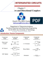 Chapter3 Power Dividers and Directional Couplers