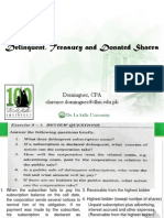 07 Delinquent, Treasury and Donated Shares