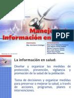 Manejo de Informacion en Salud