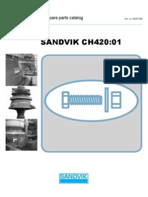 CH420-01 Spare Parts Catalog R223 1332-01PARTES | Belt (Mechanical