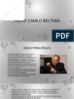 Padre Camilo Beltrán Discurso