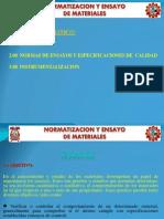 Unidad III Normatizacion y Ensayo de Materiales 2013 II