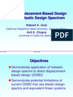 Direct Displacement Based Design Using Inelastic Design Spectrum