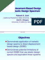 Direct Displacement Based Design Using Inelastic Design Spectrum