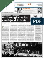 Cronica concierto Enrique Iglesias en Guadalajara