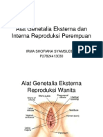 Alat Genetalia Eksterna Dan Interna Reproduksi Perempuan1