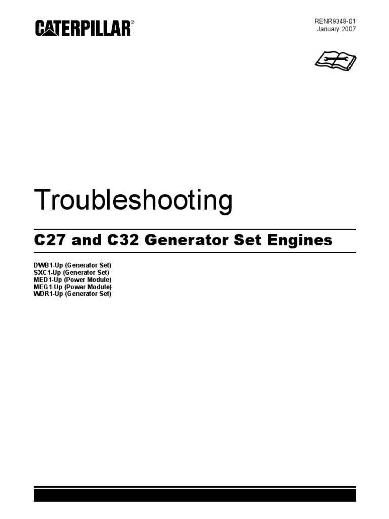 C27 and C32 Generator Set Engines _ Troubleshooting _ RENR9348-01 _ ...