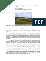 Evolución de la agricultura Rapa Nui 1997-2007