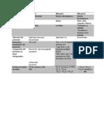 Tabla Comparacion de Rnapolimerasas