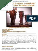 _Instrumentos de Música y Religiosidad Popular en Cuba_ _Herencia Latina