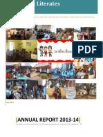 OBLF Annual Report 2013-14